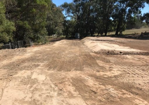 Residential excavation completed in Drouin