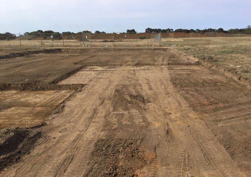 Site cut Geelong