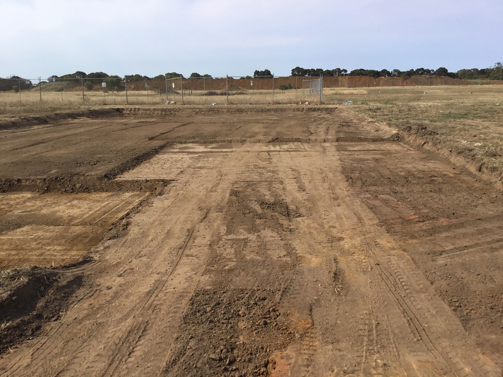 Site cut in Geelong