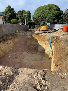 Picture of a basement excavation
