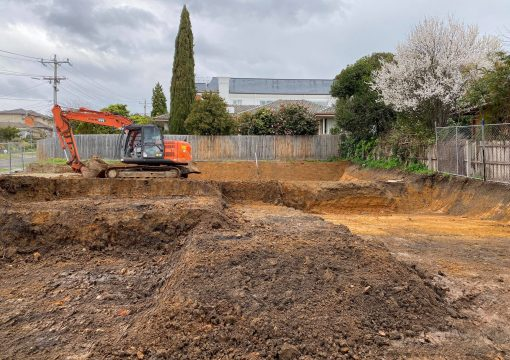 House Excavation in Melbourne