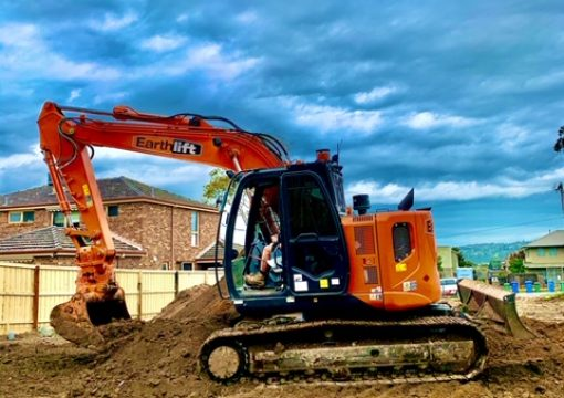 Residential excavation completed on time