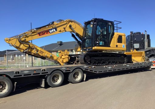 Next Gen Caterpillar delivered for site cuts