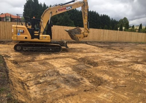 Residential site scrape